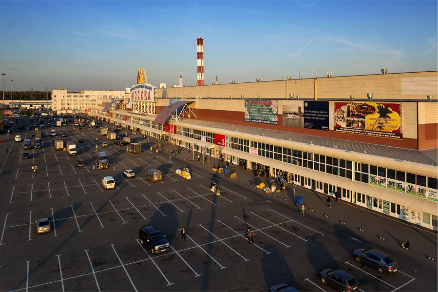 Рынок на Люблино