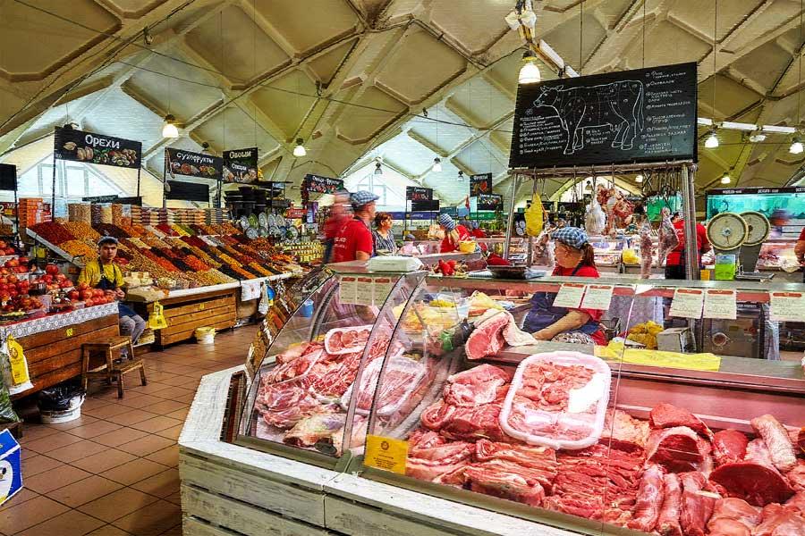 Что продается на Даниловском рынке в Москве?
