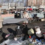 Блошиный рынок «Левша» в Новоподрезково