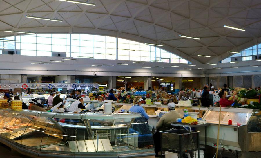 Черемушкинский рынок внутри