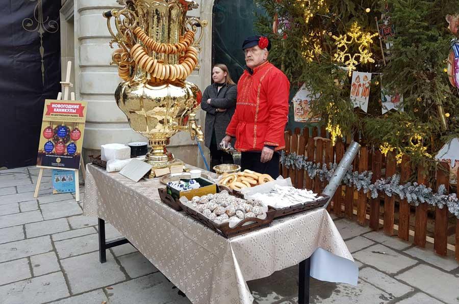 Сладости на Центральном рынке Москвы