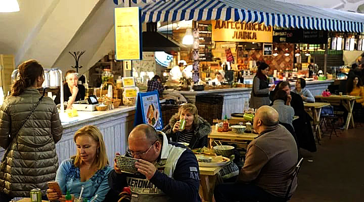 Фудкорты на Даниловском рынке