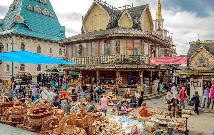 Блошиный рынок в Измайлово (Вернисаж)