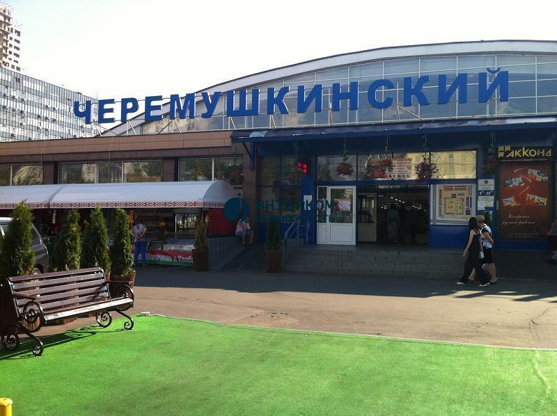 Черёмушкинский рынок в Москве